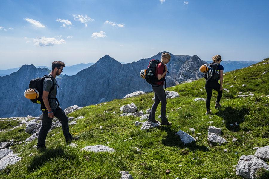 Climbing Triglav in 1 day scenery hike