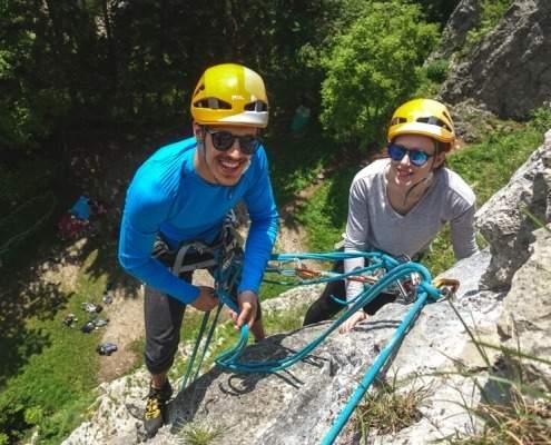Lake Bled Rock climbing in Bohinjska Bela