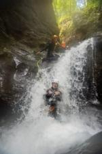 Amazing Canyoning Great Fun doing Sliding