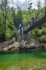 Bridge Jump Into the Sava Bohinjka River