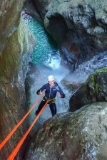 Ultimate canyoning Kozjak waterfall