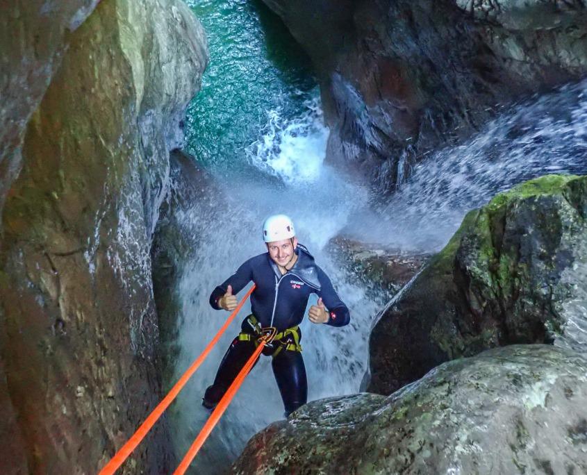 Ultimate canyoning in Kozjak Canyon