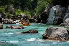 Emerald Rafting River Adventure, Slovenia