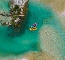 Emerald Rafting - short Soča