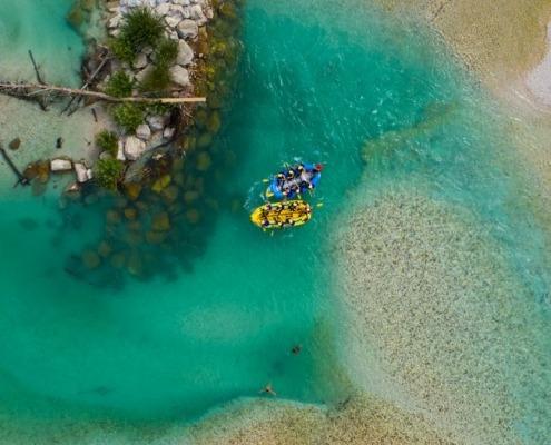 Emerald Rafting - short Soča