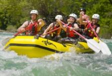 Emerald Rafting - short (Soča River)