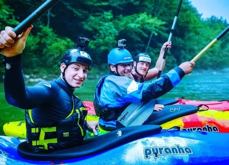 Fun Kayaking Sava River