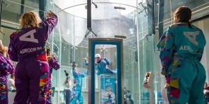 Indoor skydiving in Slovenia