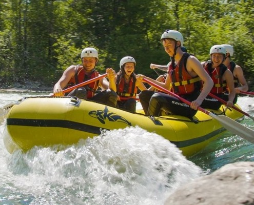 Mini rafting Sava River