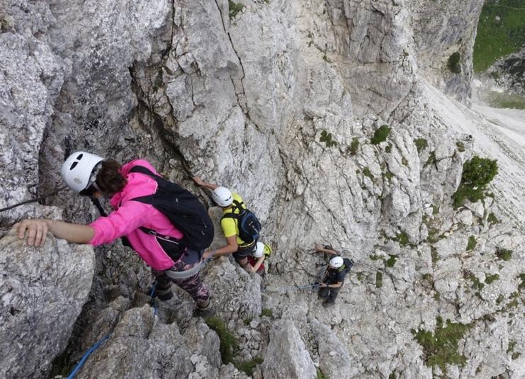Multi Pitch - Slovenian Route
