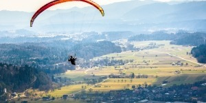 Paragliding From 1220m