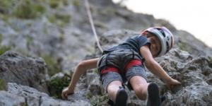 Rock climbing kindergarden Slovenia
