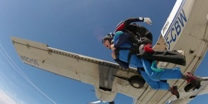 Tandem skydiving From 4000m