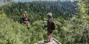 Zipline Dolinka in Bled