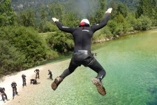 Amazing canyoning sava river