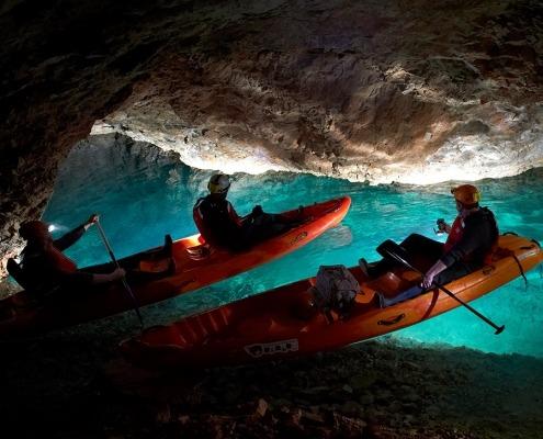 Cave Kayaking Tour Peca