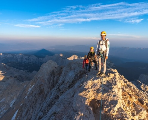 Triglav Special offer, hike from the small Triglav to the Top