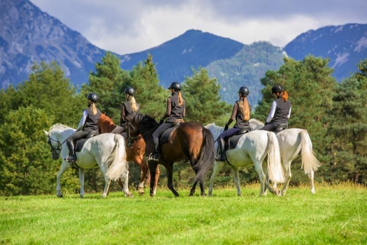 Horseback Riding - Mountain Stroll