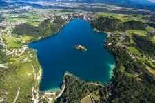 Panorama Lake Bled, Slovenia