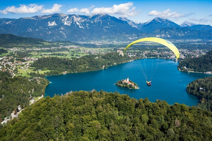 Paragliding Lake Bled And Sourroundings