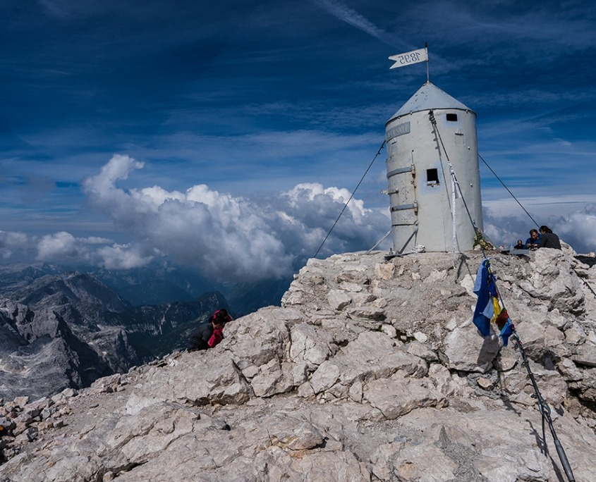 Climbing Mount Triglav