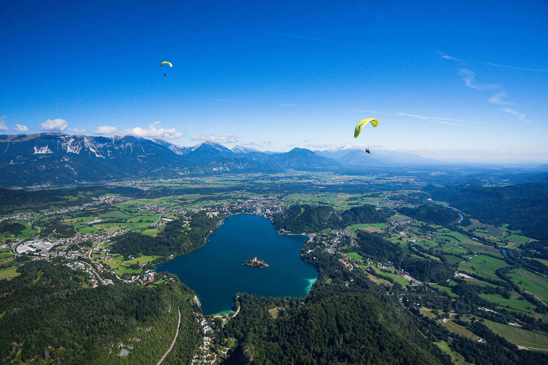 Unforgettable Paragliding Lake Bled
