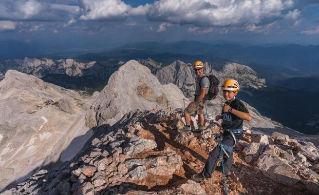 The highest mountain in Slovenia, mount Triglav