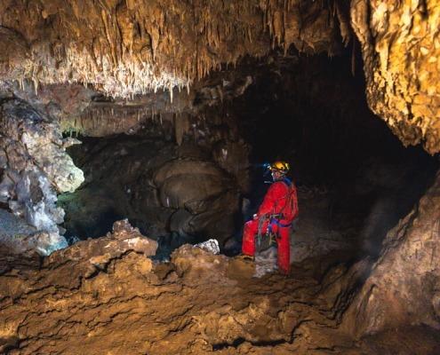 Cave near Lake Bled