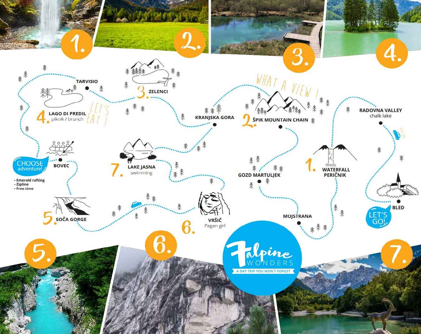 Explore the best sights of Slovenia in a one day tour
