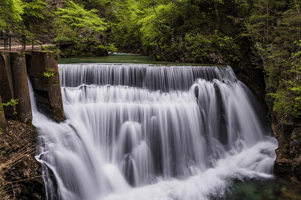 Vintgar Gorge near Lake Bled