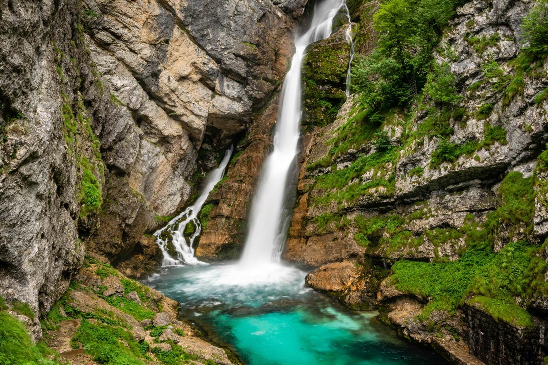Savica Waterfall in Bohinj