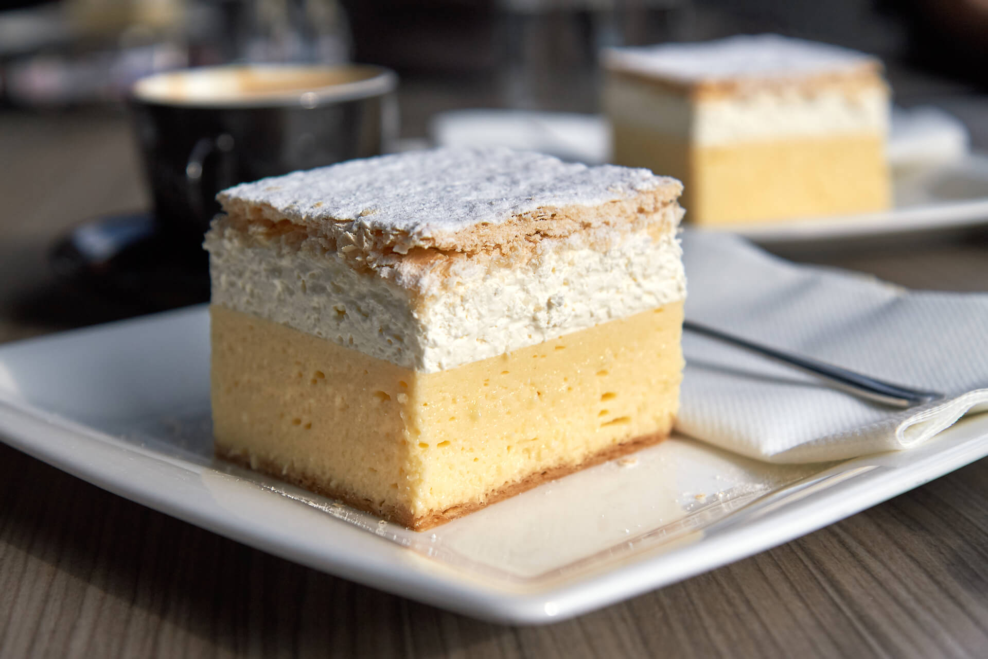 Slovenian cake from Bled