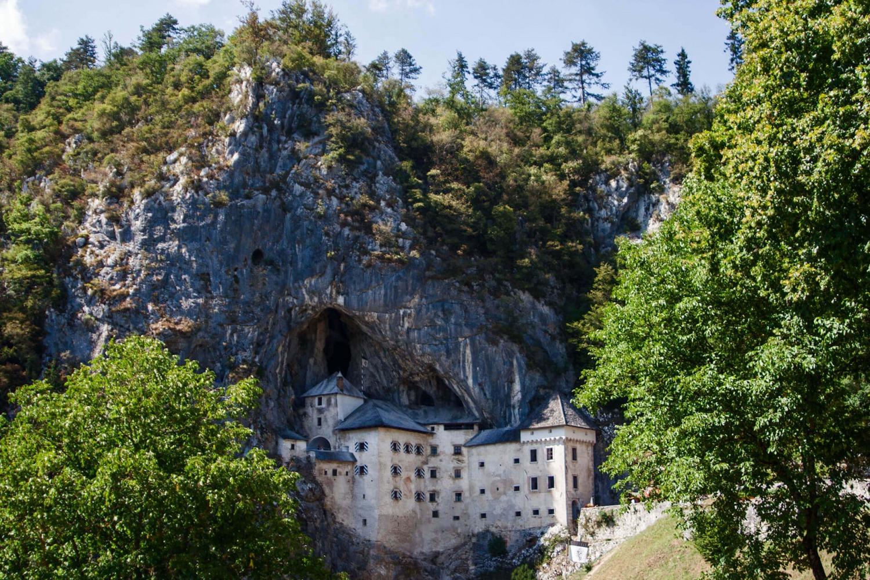 Predjama castle in Postojna