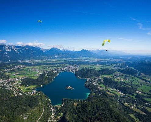 paragliding bled
