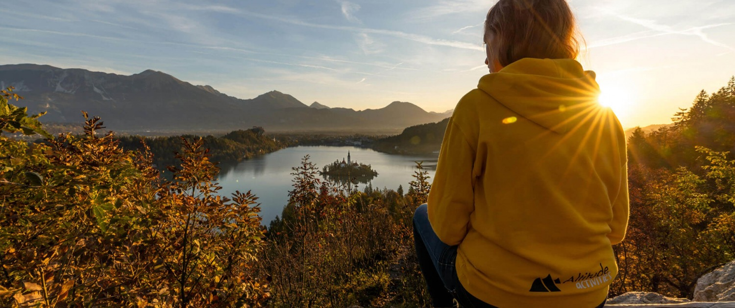 Bled island view