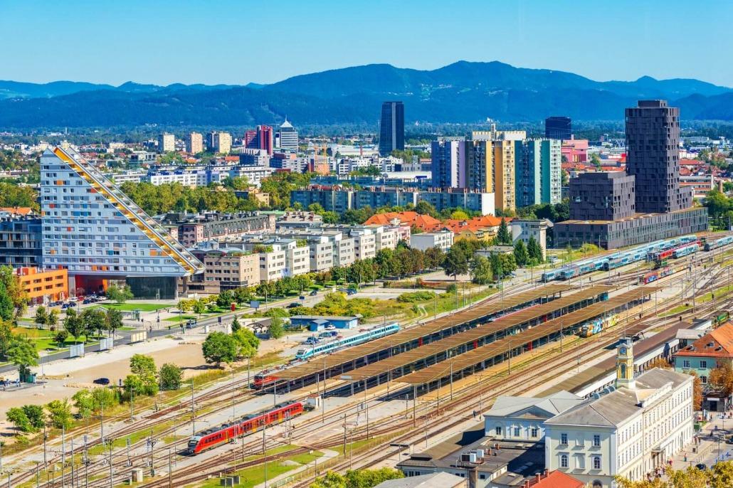 Train station Ljubljana
