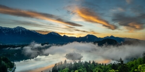 Misty Lake Bled