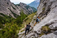 Ridge Traversing in Kamnik Savija Alps Slovenia