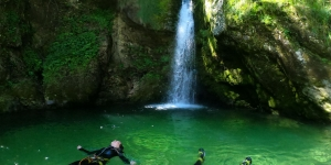 gopro canyoning