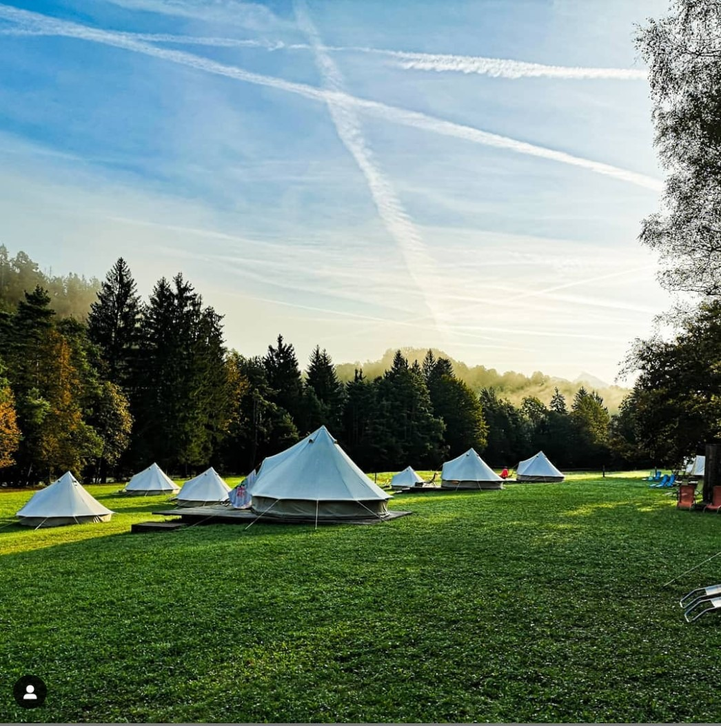 eco river camp close to Bled