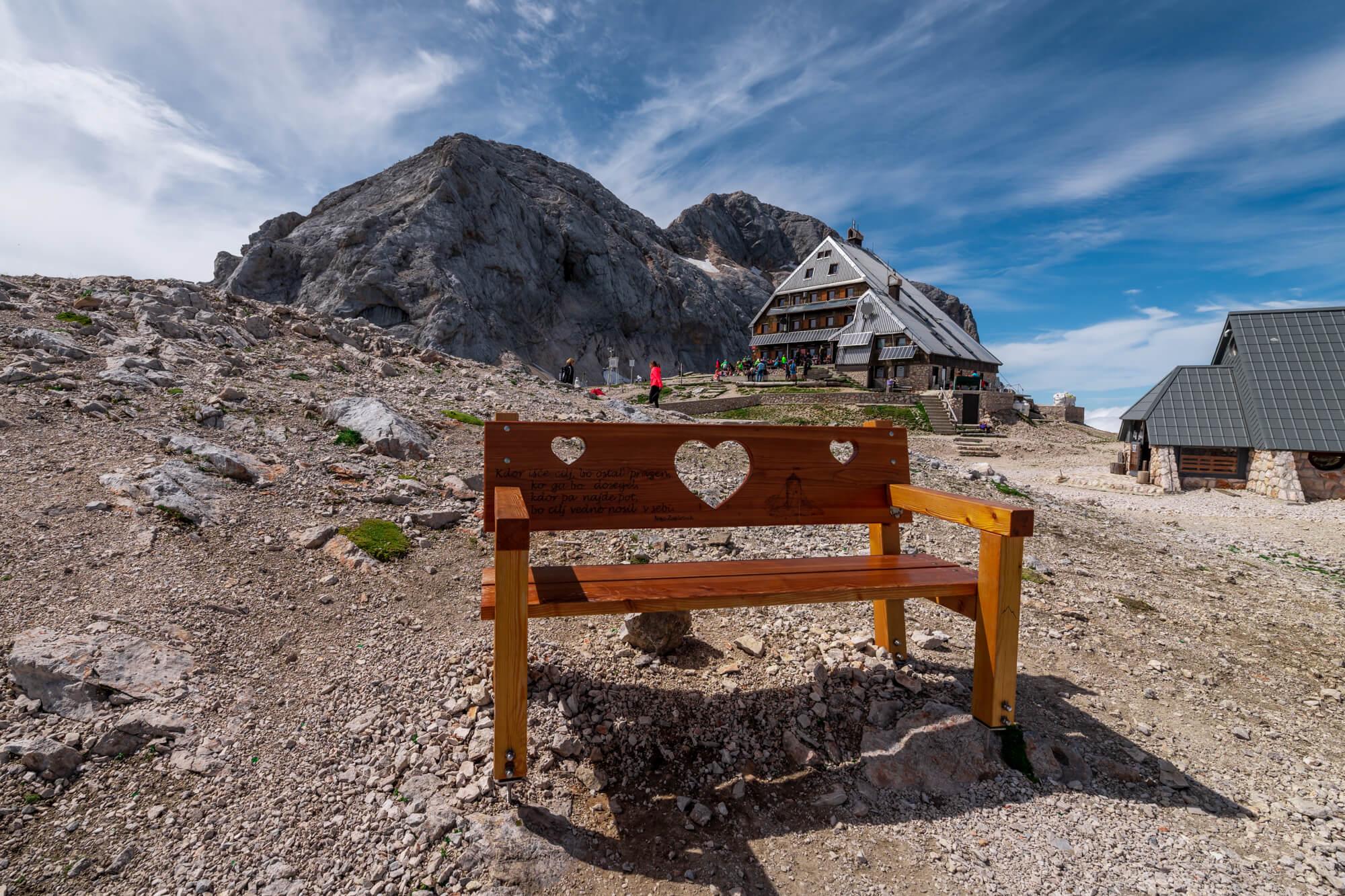 The Highest Hut in Slovenia, Kredarica